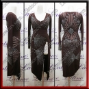 LATIN SALSA COMPETITION DRESS LDW (LT3113)