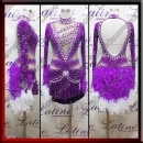 LATIN SALSA COMPETITION DRESS LDW (LT3115)