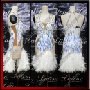 LATIN SALSA COMPETITION DRESS LDW (LS449)