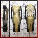 LATIN SALSA COMPETITION DRESS LDW (LS450)