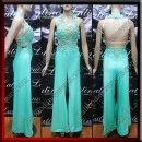 LATIN SALSA COMPETITION CATSUIT LDW (LT3122)