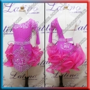 JUNIOR LATIN SALSA COMPETITION DRESS LDW (LKLT1143A)