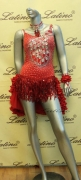 LATIN SALSA COMPETITION DRESS LDW (VL226A) only on sale on latinodancewears.com