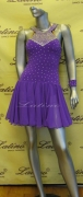 LATIN SALSA COMPETITION DRESS LDW (LS132) only on sale on latinodancewears.com