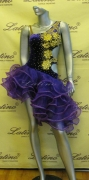 LATIN SALSA COMPETITION DRESS LDW (LT655) only on sale on latinodancewears.com