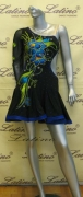 LATIN SALSA COMPETITION DRESS LDW (LS172) only on sale on latinodancewears.com