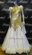 BALLROOM COMPETITION DRESS LDW (SS37) only on sale on latinodancewears.com