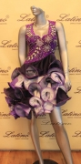 LATIN SALSA COMPETITION DRESS LDW (LT646)