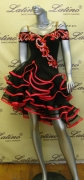 LATIN SALSA COMPETITION DRESS LDW (LT689)