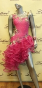 LATIN SALSA COMPETITION DRESS LDW (LT607A)