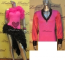 LATIN SALSA COMPETITION FOR COUPLE DRESS-SHIRT LDW (LT380C/B33H)