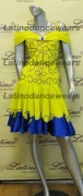 LATIN SALSA COMPETITION DRESS LDW (LT694)