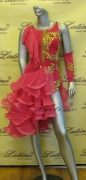 LATIN SALSA COMPETITION DRESS LDW (LT662)