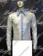 MAN LATIN SALSA SHIRT LDW (B167)