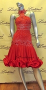 LATIN SALSA COMPETITION DRESS LDW (LT310C)