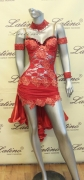 LATIN SALSA COMPETITION DRESS LDW (LT311D)