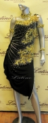 LATIN SALSA COMPETITION DRESS LDW (VL291)