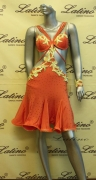 LATIN SALSA COMPETITION DRESS LDW (VL332)
