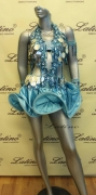 LATIN SALSA COMPETITION DRESS LDW (VL273)