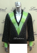 MEN'S LATIN SALSA SHIRT SIZE M (B82)