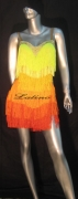 LATIN SALSA COMPETITION DRESS LDW (LT231)