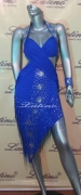 LATIN SALSA COMPETITION DRESS LDW (LT105D)