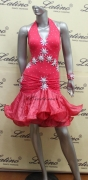 LATIN SALSA COMPETITION DRESS LDW (LT474)