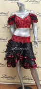 LATIN SALSA COMPETITION DRESS LDW (LT83E)
