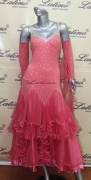 BALLROOM COMPETITION DRESS LDW (ST8C)