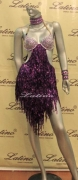 LATIN SALSA COMPETITION DRESS LDW (VL170)