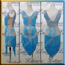 LATIN SALSA COMPETITION DRESS LDW (LT1216)