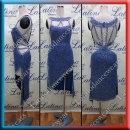 LATIN SALSA COMPETITION DRESS LDW (LS381)
