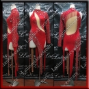 LATIN SALSA COMPETITION DRESS LDW (LT3012)
