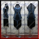 LATIN SALSA COMPETITION DRESS LDW (VL667)