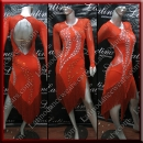LATIN SALSA COMPETITION DRESS LDW (VL668)