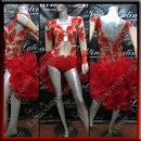 LATIN SALSA COMPETITION DRESS LDW (LT1343)