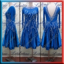 LATIN SALSA COMPETITION DRESS LDW (VL669)