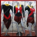 LATIN SALSA COMPETITION DRESS LDW (VL675)