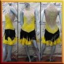 LATIN SALSA COMPETITION DRESS LDW (VL665B)