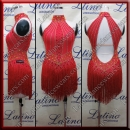 LATIN SALSA COMPETITION DRESS LDW (AL107)