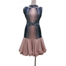 LATIN SALSA COMPETITION DRESS LDW (LT1352)