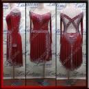 LATIN SALSA COMPETITION DRESS LDW (LT1363)