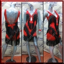 LATIN SALSA COMPETITION DRESS LDW (AL115)