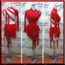 LATIN SALSA COMPETITION DRESS LDW (VL682)