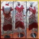 LATIN SALSA COMPETITION DRESS LDW (VL684)