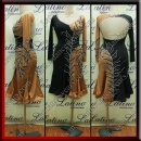 LATIN SALSA COMPETITION DRESS LDW (VL686)