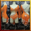 LATIN SALSA COMPETITION DRESS LDW (VL688)