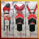 LATIN SALSA COMPETITION DRESS LDW (LT1394)