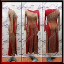 LATIN SALSA COMPETITION DRESS LDW (LT3043A)