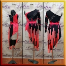 LATIN SALSA COMPETITION DRESS LDW (LT1405)